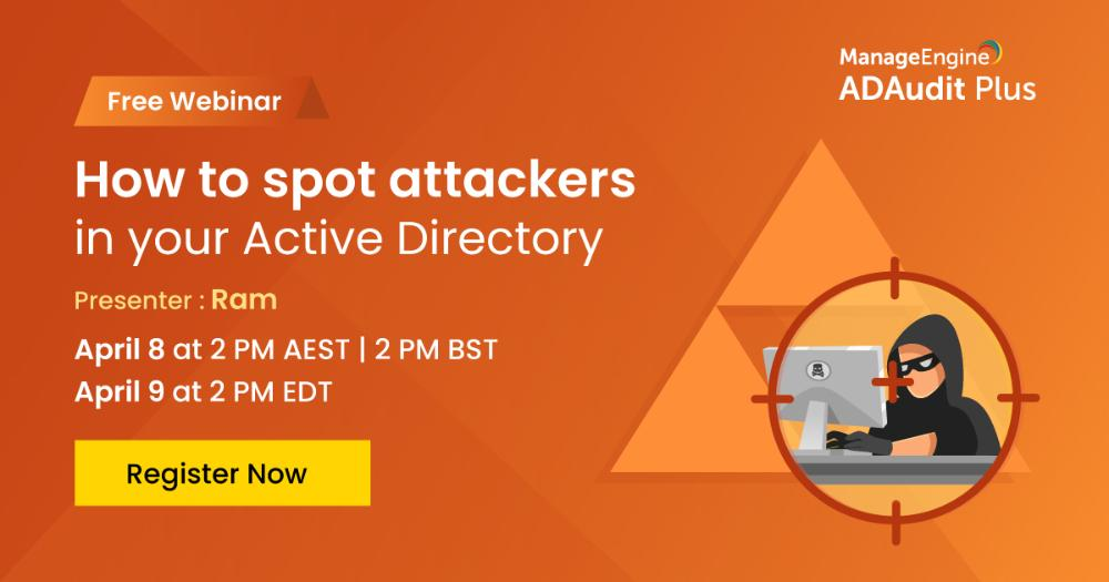 [Webinar] How to spot attackers in your Active Directory